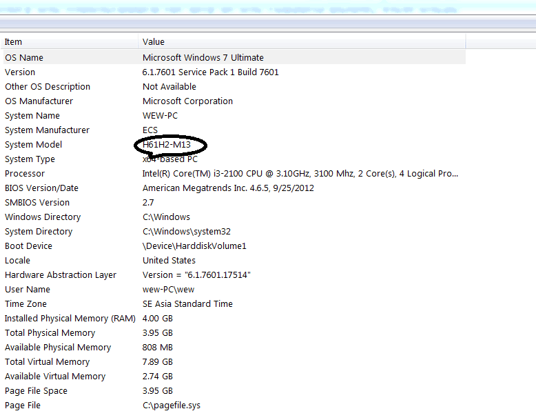 what kind of motherboard do i have
